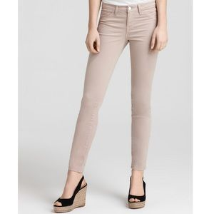 J Brand Natural 811 luxe twill Skinny Jeans Nude